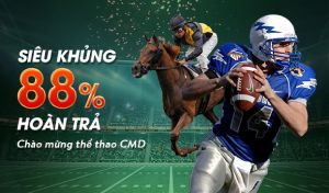 88% hoàn trả thể thao CMD